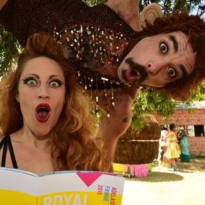 Trixie & Monkey 2014 Adelaide Fringe -Trentino Priori