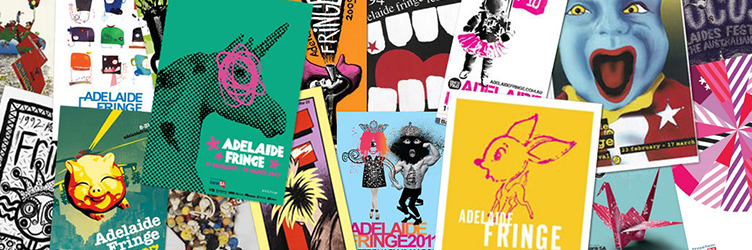 Dynamic designers sought for 2018 Adelaide Fringe Poster