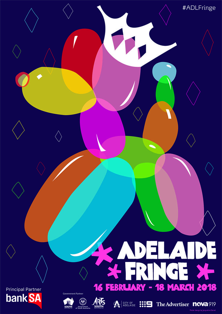 Our 2018 Adelaide Fringe Poster!