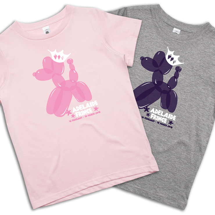 Kids Balloon Dog T-Shirt Pink