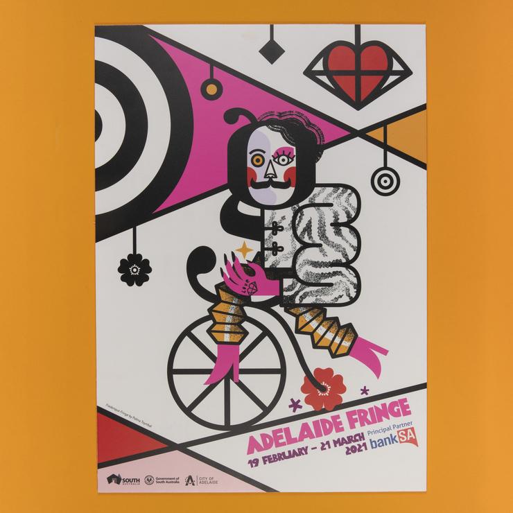 2021 Adelaide Fringe Poster A2