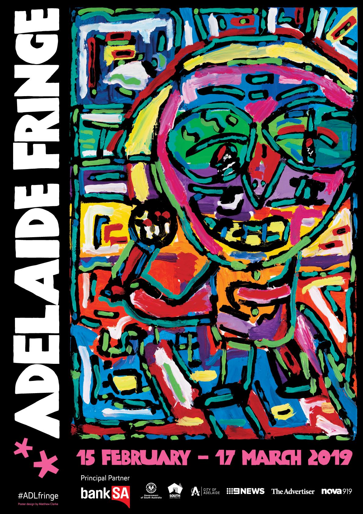 Adelaide Fringe 2019 poster